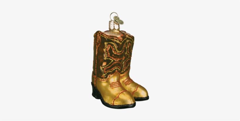 Pair Of Cowboy Boots Ornament - Cowboy Boots Christmas Ornament, transparent png #811609