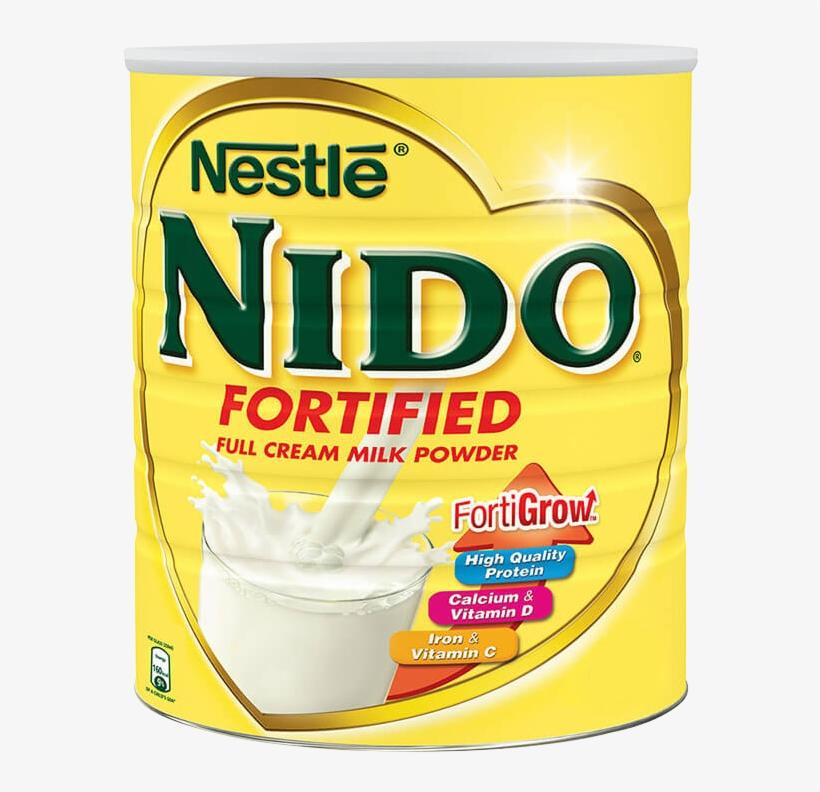 Nido® Fortified - Nestle Nido Cream Milk Powder 400gms, transparent png #812409