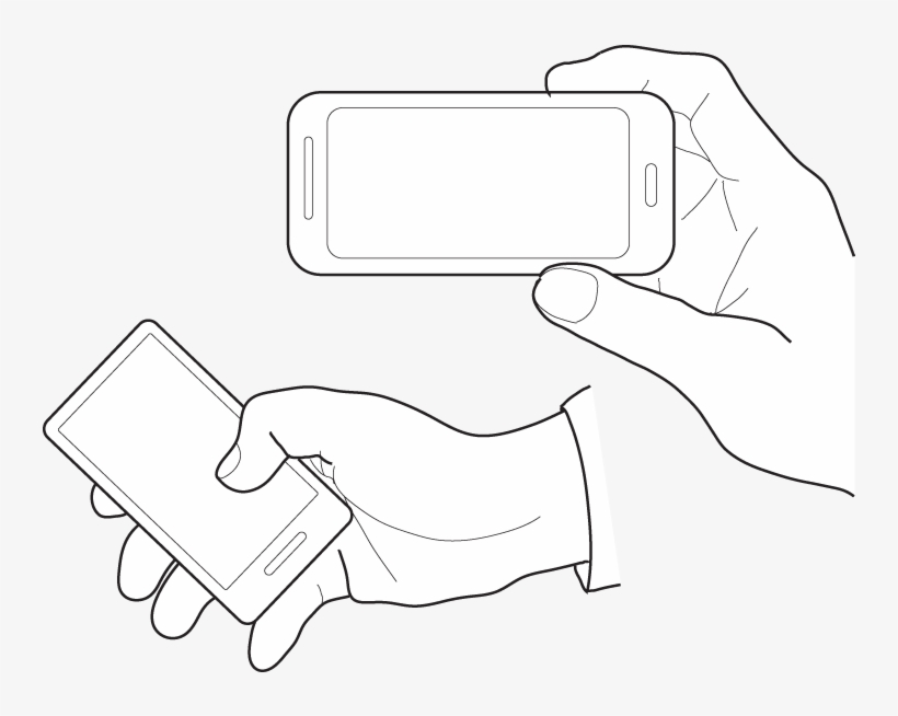 Various Hand Illustrations Holding A Touchscreen Phone Vector Hand And Phone Png Free Transparent Png Download Pngkey Any good tips on doing this? various hand illustrations holding a