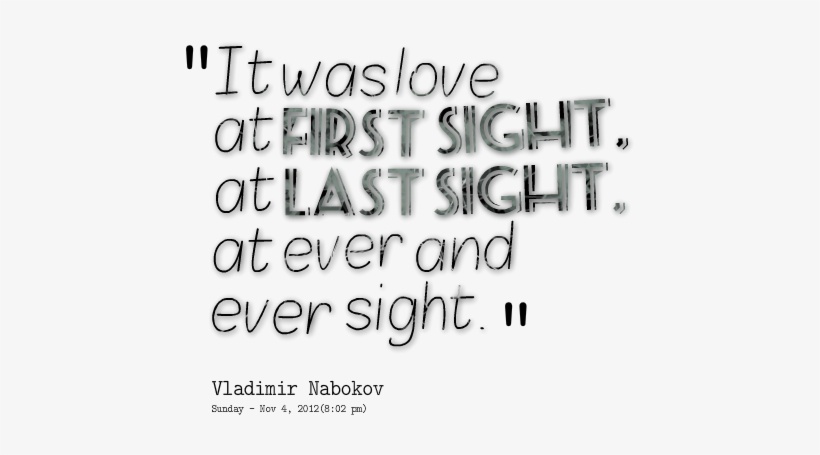 Funny Sayings About Love Funny Sayings Tumblr About - Love You At The First Sight, transparent png #814665