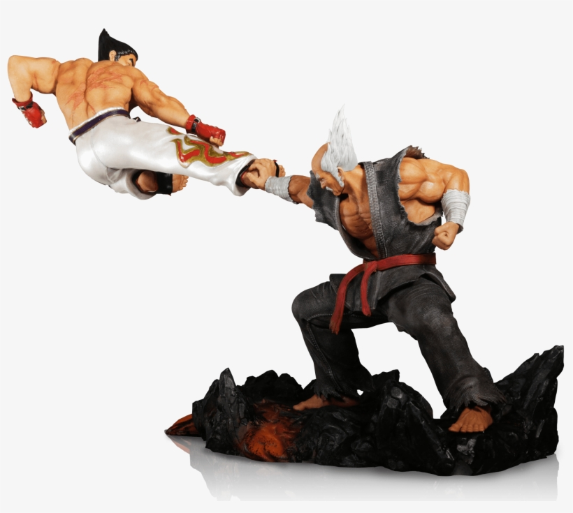 Kazuya Kicking Heihachi Immortalized In Tekken 7 Collector's - Tekken 7 - Collector's Edition Ps4, transparent png #817312