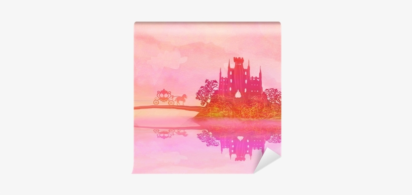 Silhouette Of A Horse Carriage And A Medieval Castle - Tattered Lace Cherished Carriage Cutting Die, transparent png #817597