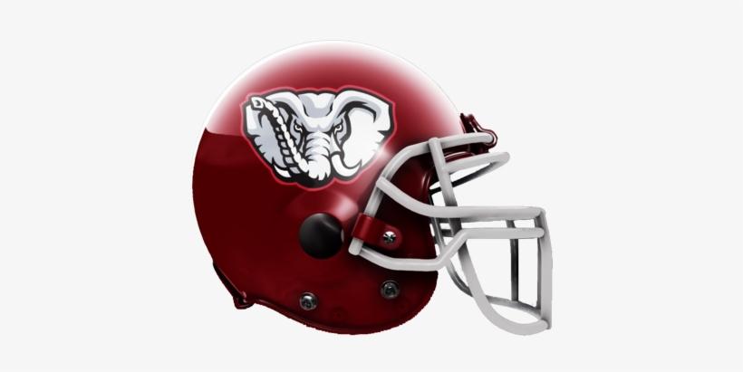 Helmet Clipart Alabama Football - Alabama Football Helmet Png, transparent png #819183
