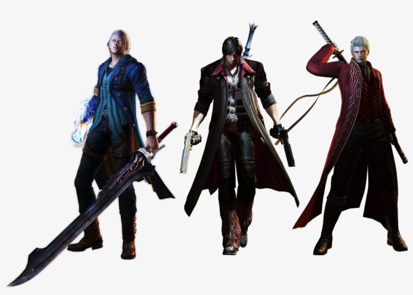 Devil May Cry 4 Special Edition - Dante Devil May Cry 4 Png, transparent png #819185