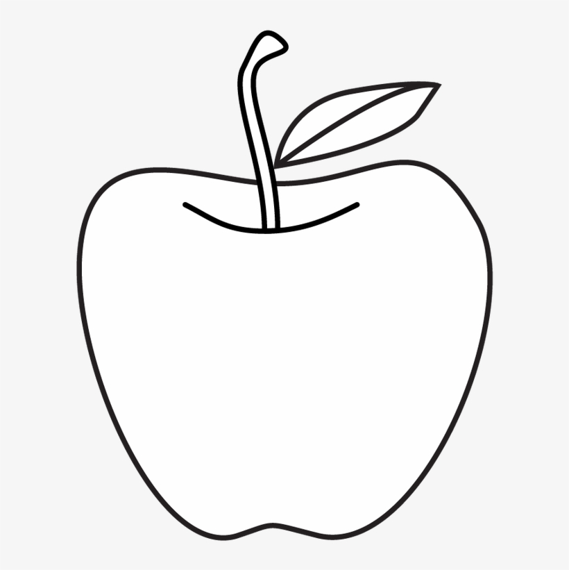 Clip Art Transparent Stock Collection Of Line Drawing Line Art Apple Free Transparent Png Download Pngkey