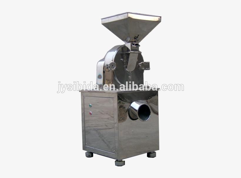 Dry Tea Leaf Cutting Grinder Leaves Powder Grinding - Herbs Grinding Machine, transparent png #8107388