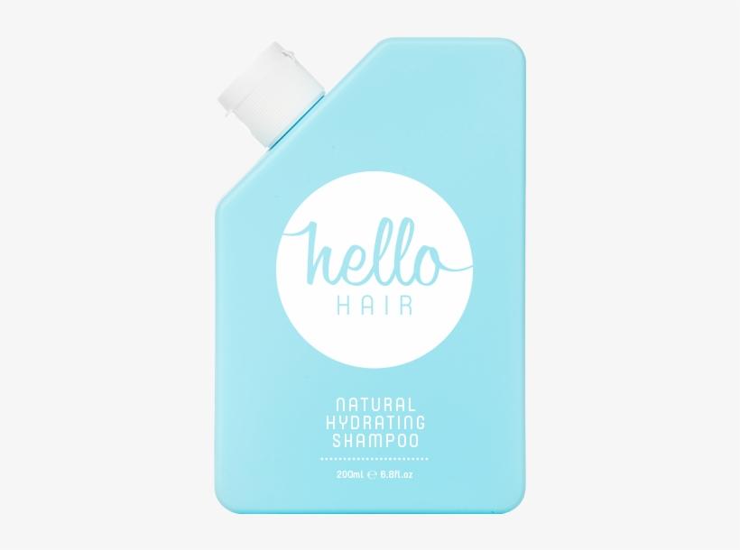 Hello Hair Natural Hydrating Shampoo 200ml - Hello Hair Natural Hydrating Shampoo, transparent png #8122391