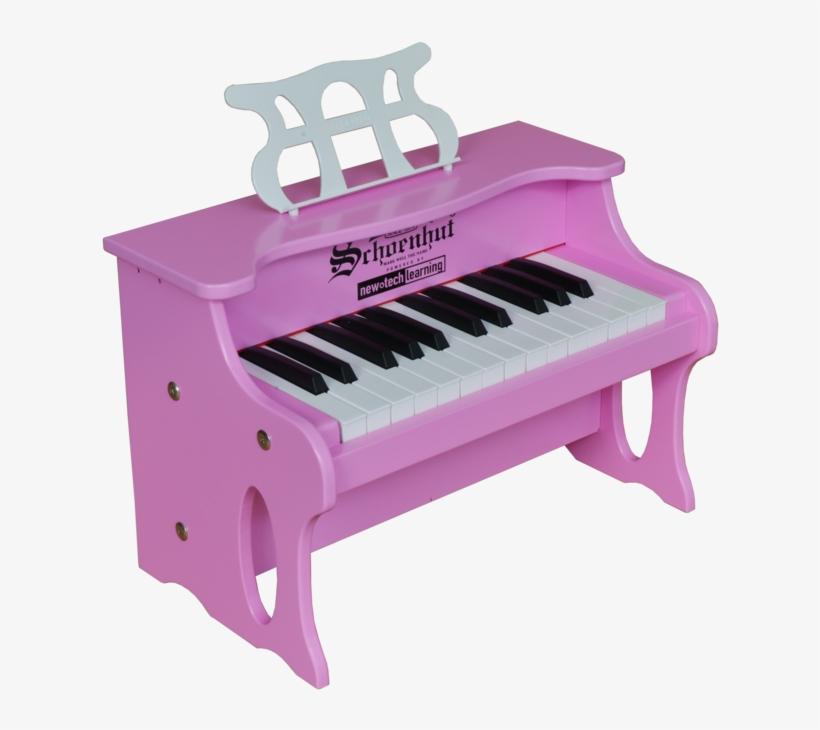 Schoenhut 25 Key Digital Table Top Piano Pink - Schoenhut 25 Key Two Toned Digital Table Top Piano, transparent png #8129700