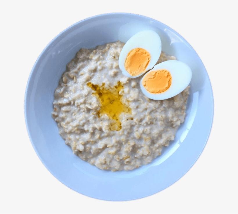 Download - Porridge And Boiled Egg, transparent png #8132897