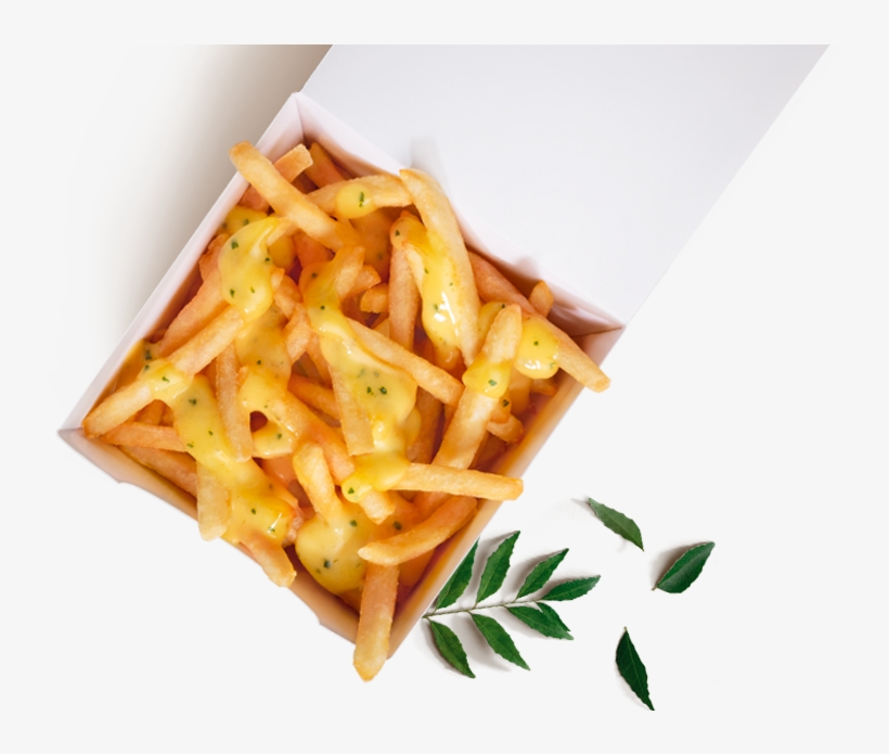 Salted Egg Yolk Loaded Fries - Salted Egg Fries Mcdonald, transparent png #8132928