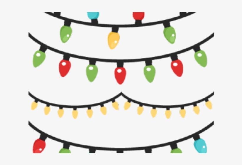 Christmas Lights Clipart Circle Png - Christmas Lights, transparent png #8133018