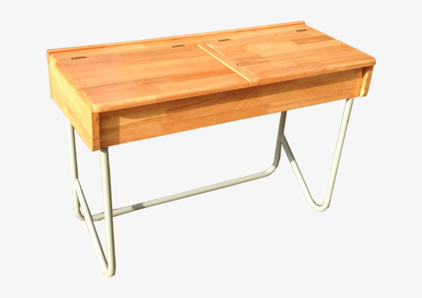 Double Desk With Lift Up - Coffee Table, transparent png #8133191