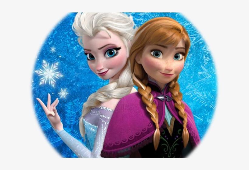 Frozen Clipart Elsa Anna - Ana En Elsa, transparent png #8137157