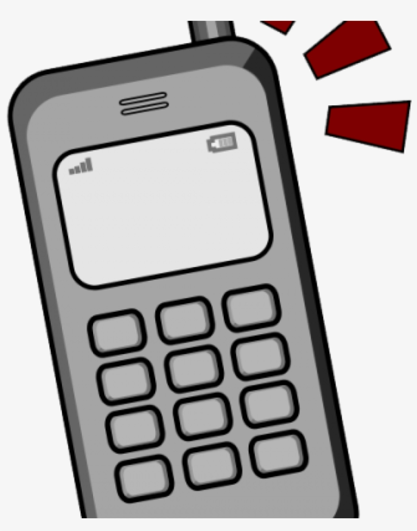 Cell Phones Clipart 19 Ringing Cell Phone Image Royalty Cellphone Cartoons Png Free Transparent Png Download Pngkey