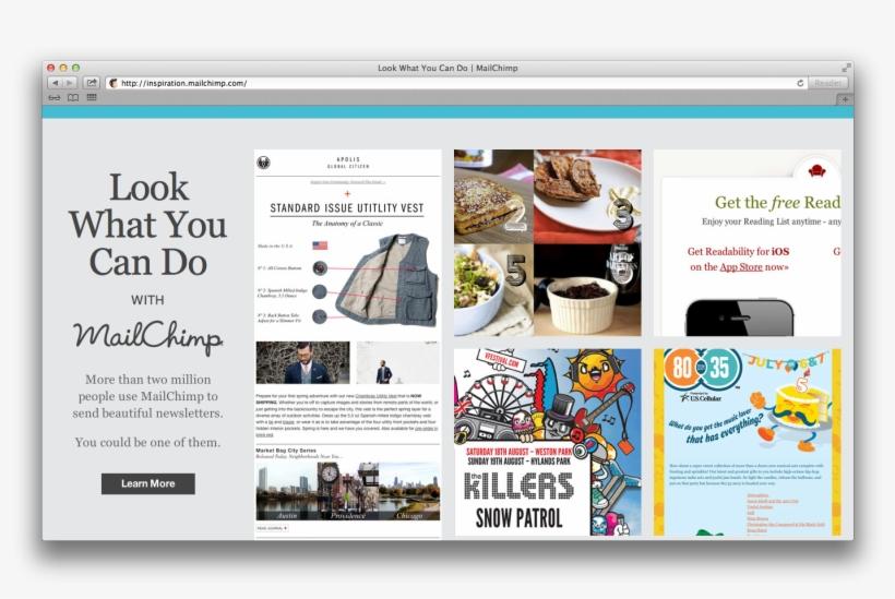 Mailchimp's Enewsletter Inspiration Resource - V Festival Line Up 2012, transparent png #8140740