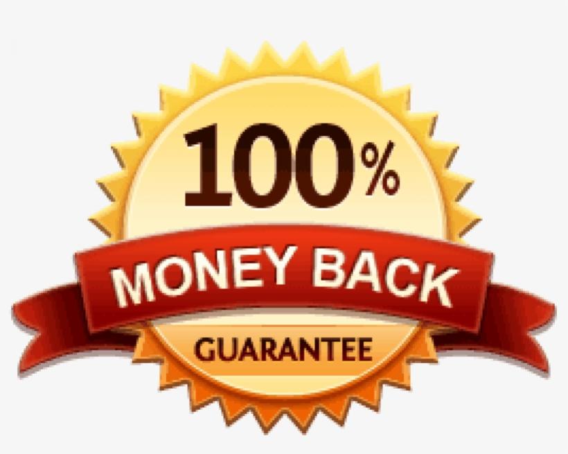 100 Percent Money Back Guarantee - 100% Money Back Guarantee Png, transparent png #8143100