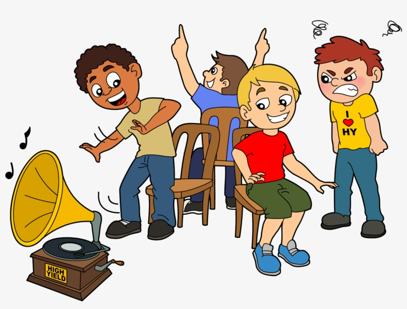 Game Clipart Musical Chair - Musical Chair Game Clipart, transparent png #8144393