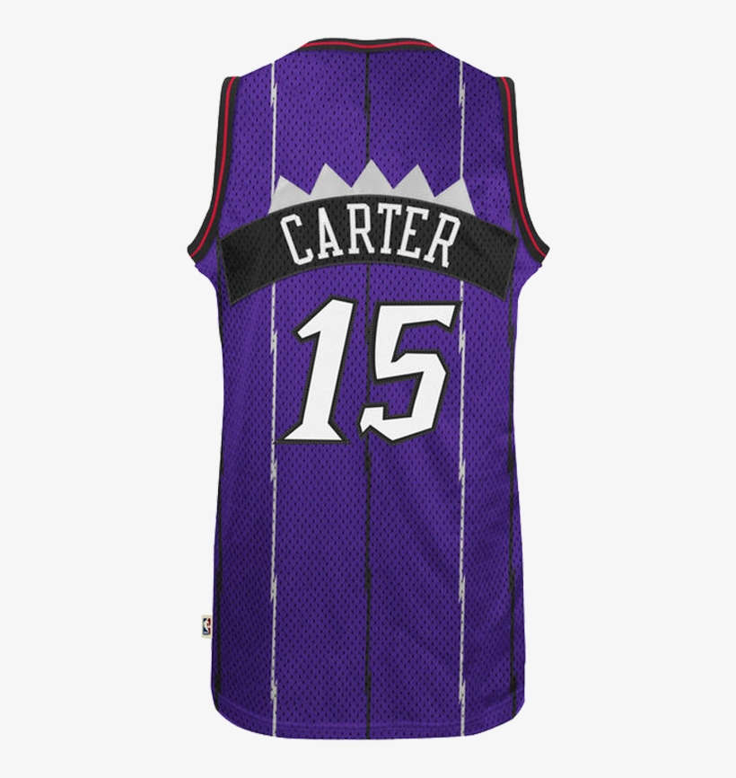 timeless design 08460 47654 Vince Carter Raptors Hardwood Classics Purple Jersey - Vince ...