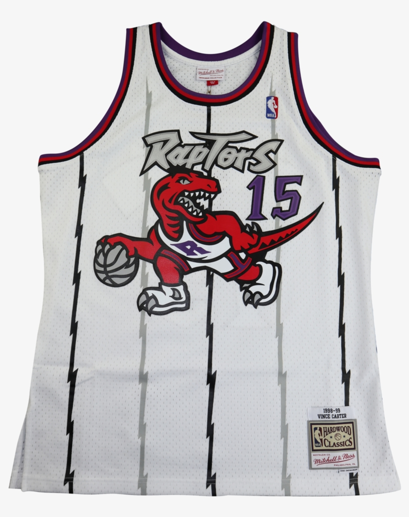 Vince Carter Raptors Jersey Mitchell And Ness White, transparent png #8146292