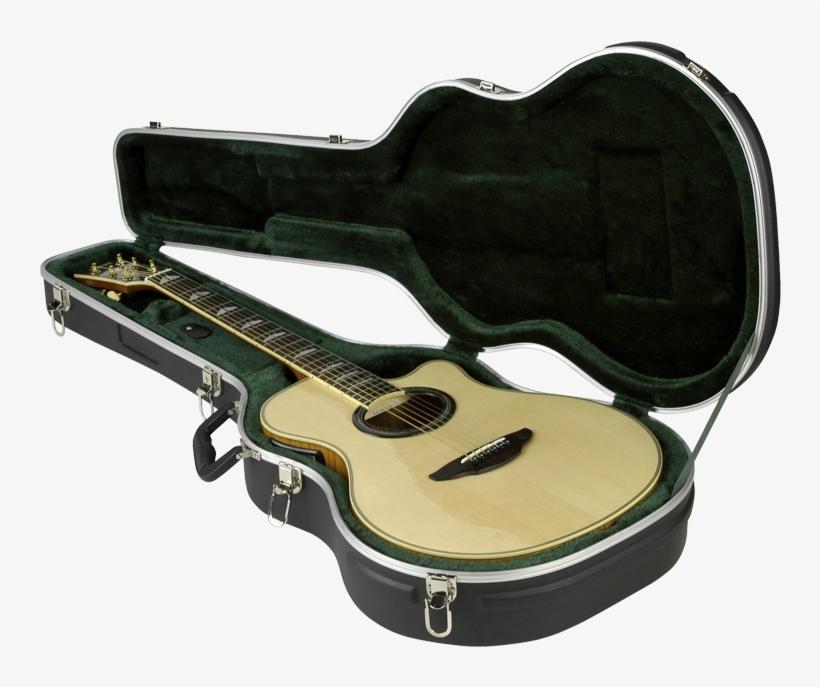 Skb 3 Thin Line - Skb Hardshell Acoustic Guitar Case, transparent png #8150659