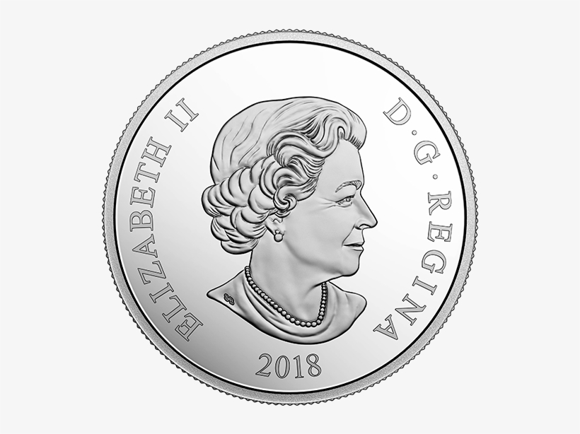 *golden Maple Leaf - Canadian Year Of The Dog Coin, transparent png #8154412