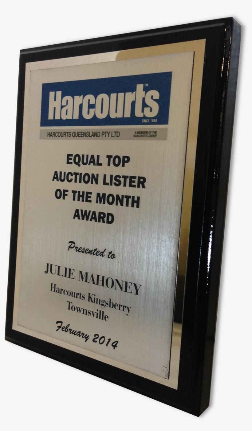 Equal Top Lister Plaque - Sign, transparent png #8156701