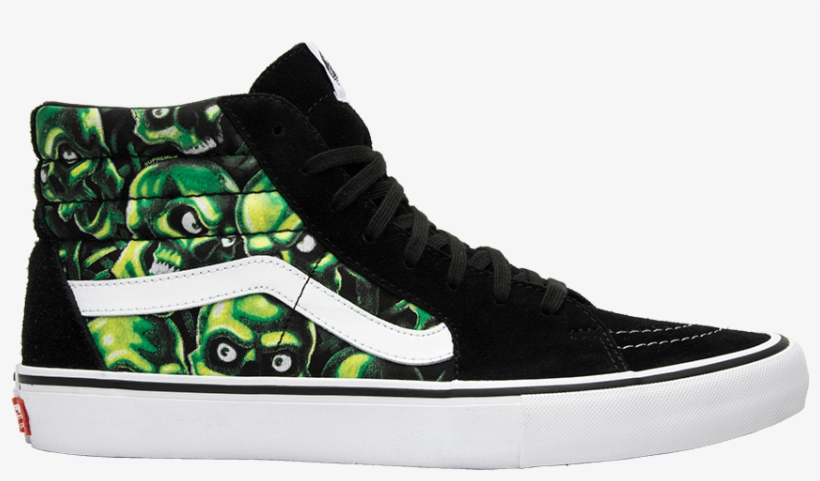 dbeeede4b3 Supreme X Sk8 Hi  glow In The Dark Skull Pile  - Supreme X Vans ...