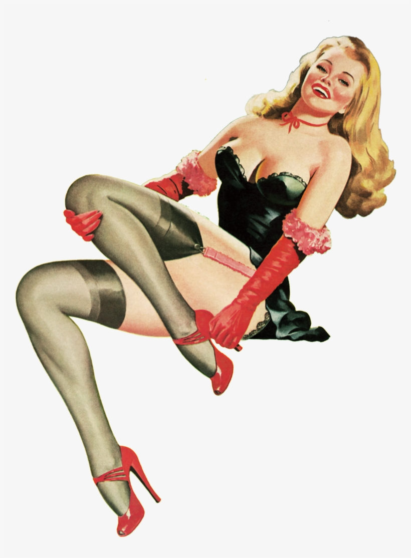 Retro Pin Up, Pin Up Art, Vintage Advertisements, Store, - Vintage Sexy Girl Png, transparent png #8164972