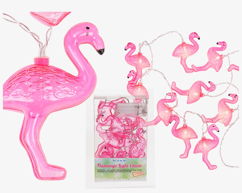 Guirlande Lumineuse Flamant Rose Free Transparent Png Download Pngkey