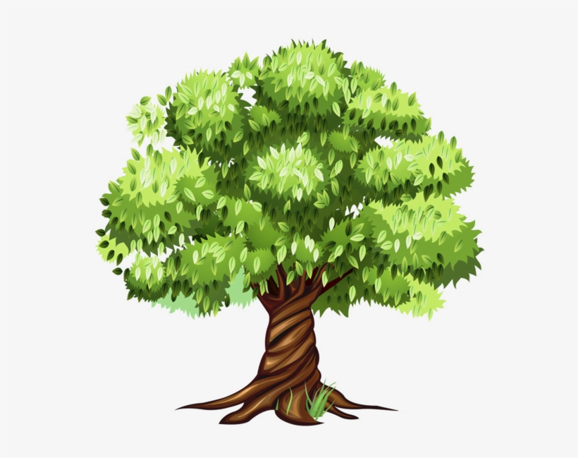 Tree Clipart, Tree Patterns, Flowering Trees, Cartoon - Tree Clipart, transparent png #8174589