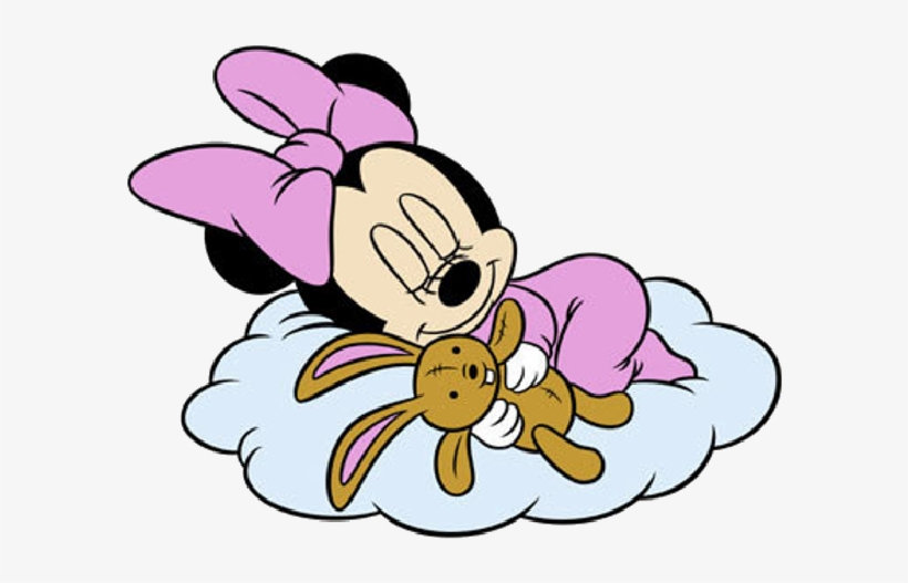 Baby Minnie Mouse Sleeping, transparent png #8174913