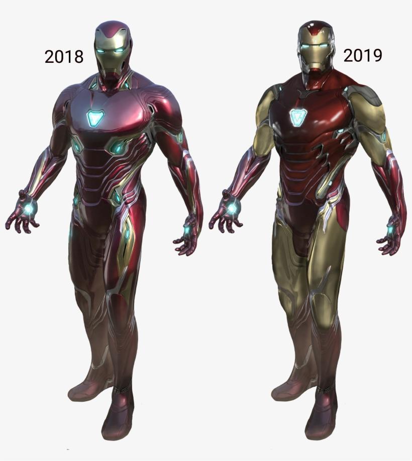 Endgame' Spoilers Which Iron Man - Iron Man Mark 85 Reddit, transparent png #8179856