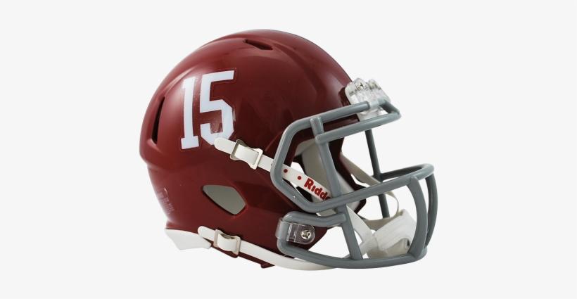 Alabama Crimson Tide - Alabama Crimson Tide College Football Speed Mini Helmet, transparent png #820095