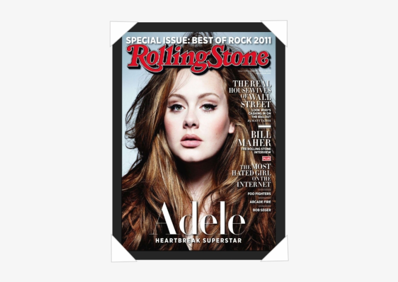 #174 - Rolling Stones Adele Cover Magazine, transparent png #820511