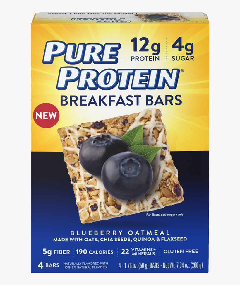 Pure Protein Breakfast Bars, transparent png #821847