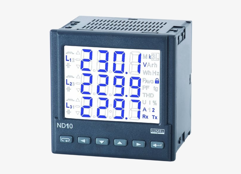 Nd10 Power Meter - Energy Meter 3 Phase, transparent png #823258