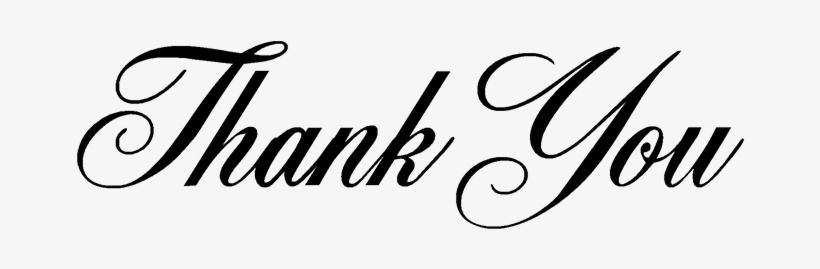 Thank You For Shopping With Us - Thank You Transparent Background, transparent png #826549