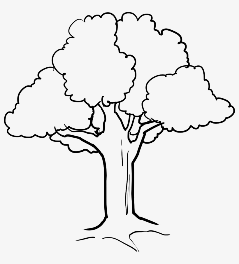 Fall Tree Drawing At Getdrawings - Cute Tree Coloring Pages - Free ...