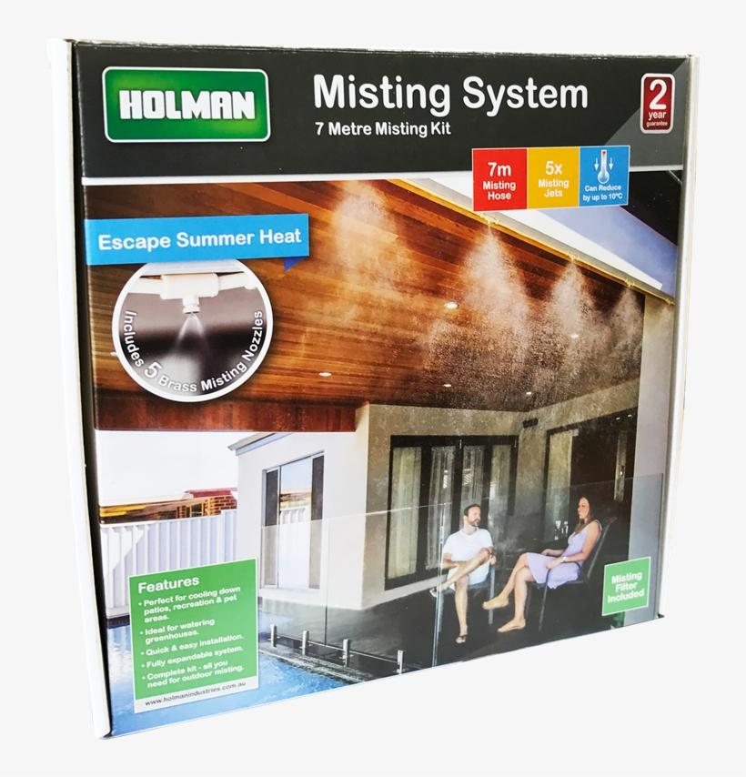 Holman 7m Misting System Kit - Misting System Bunnings, transparent png #8206984