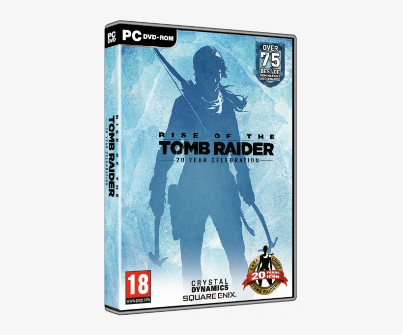 Rise Of The Tomb Raider 20 Year Celebration - Rise Of The Tomb Raider 20 Years Celebration Pc, transparent png #8210124