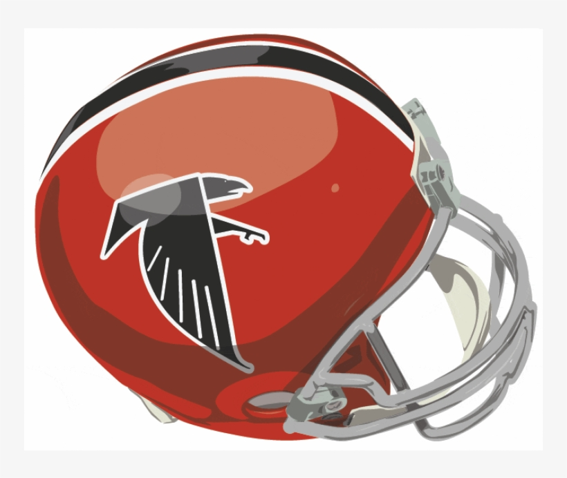 Atlanta Falcons Iron On Stickers And Peel-off Decals - Philadelphia Eagles 1955 Helmets, transparent png #8212134