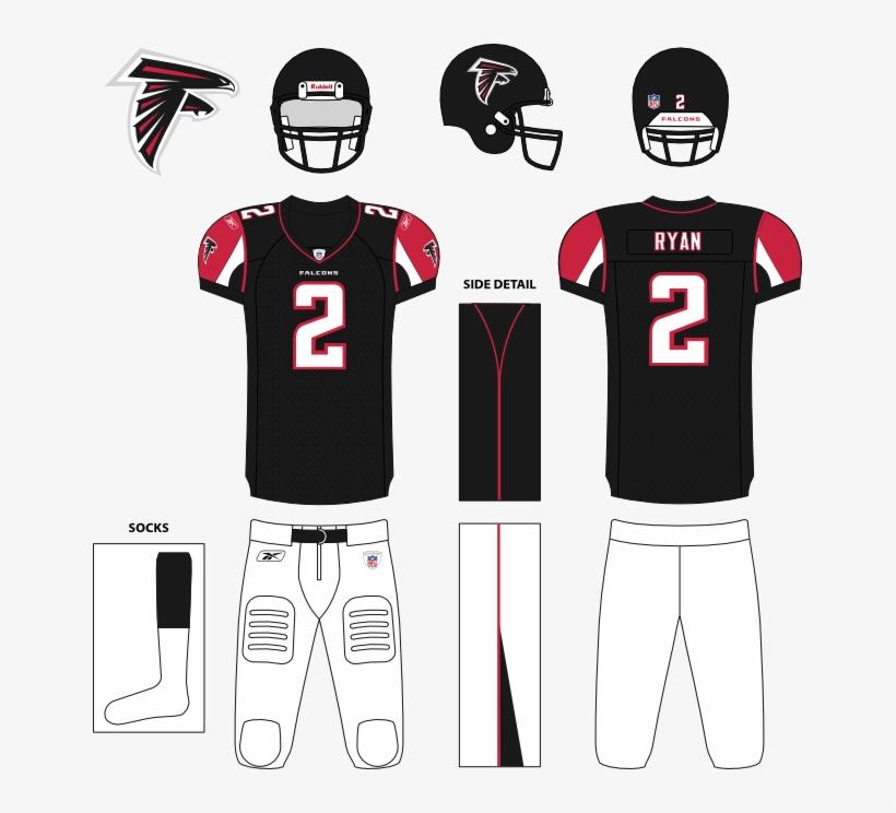 Atlanta Falcons Nike Red Custom Game Jersey Brave-birds - New England Patriots Away Uniforms, transparent png #8212300