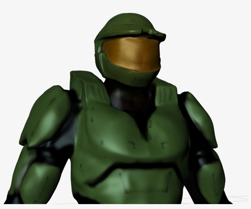 This Is A Model Of Master Chief From Halo 2 I Made Free