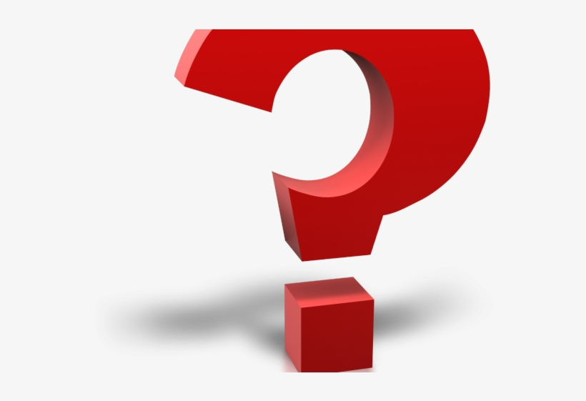 Question Mark Clipart Bold - 3d Question Mark Icon Png, transparent png #8218739