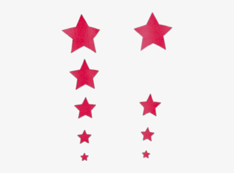 Magenta Glitter Stars - Moon With Clouds Logo, transparent png #8227498