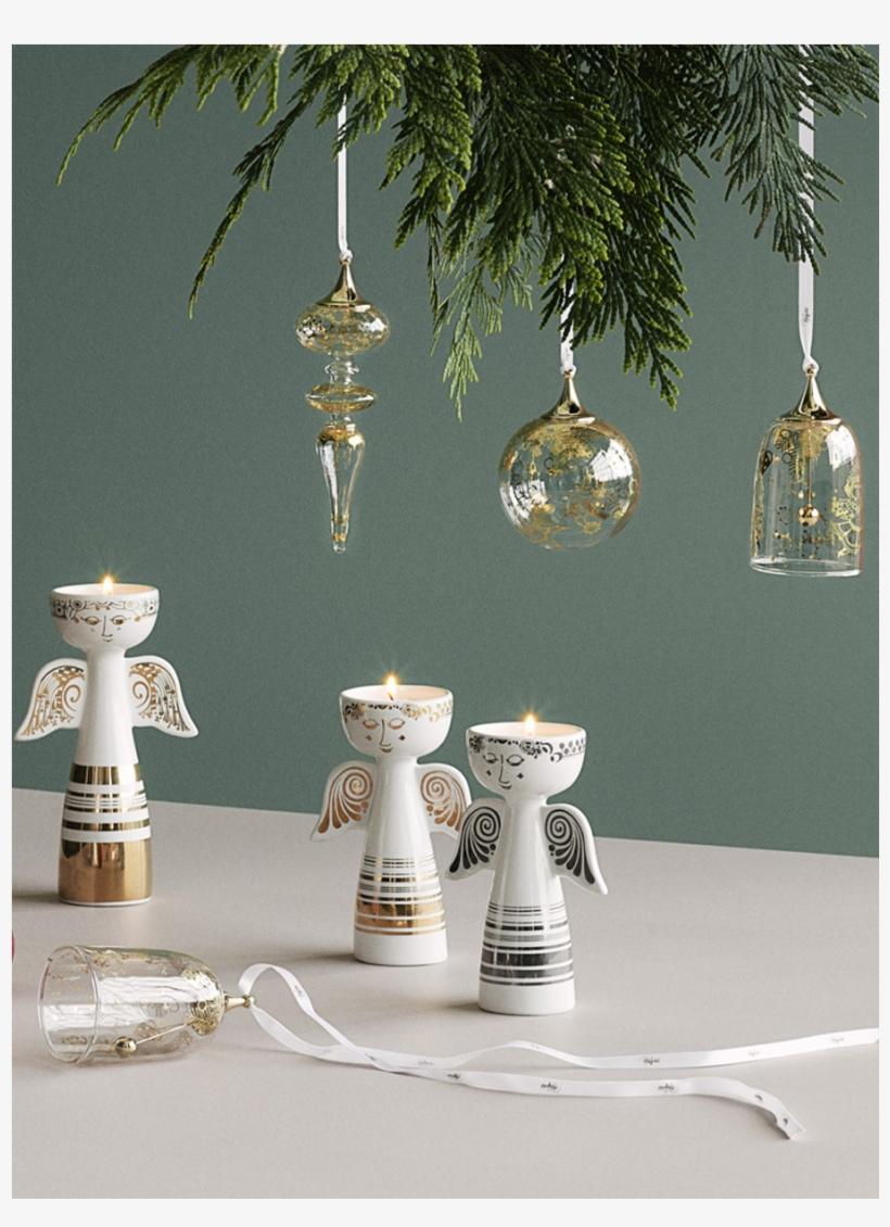 Wiinblad Christmas Icicle Gold H16 Bw Christmas - Bjorn Wiinblad Christmas, transparent png #8230854