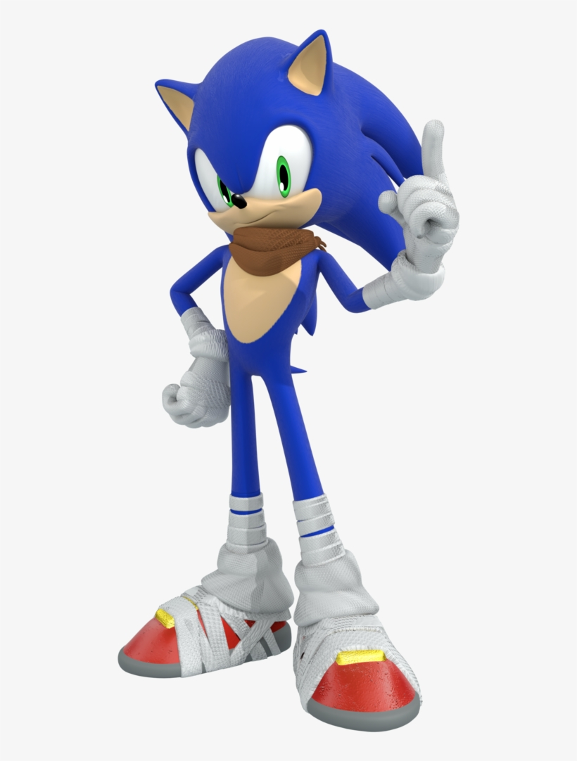 Sonic Sticker - Sonic The Hedgehog In Sonic Boom, transparent png #8234804