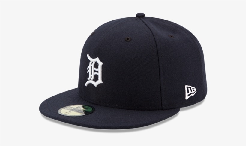 New Era Detroit Tigers Home 59fifty Authentic Performance - Yankees New Era Cap, transparent png #8236592