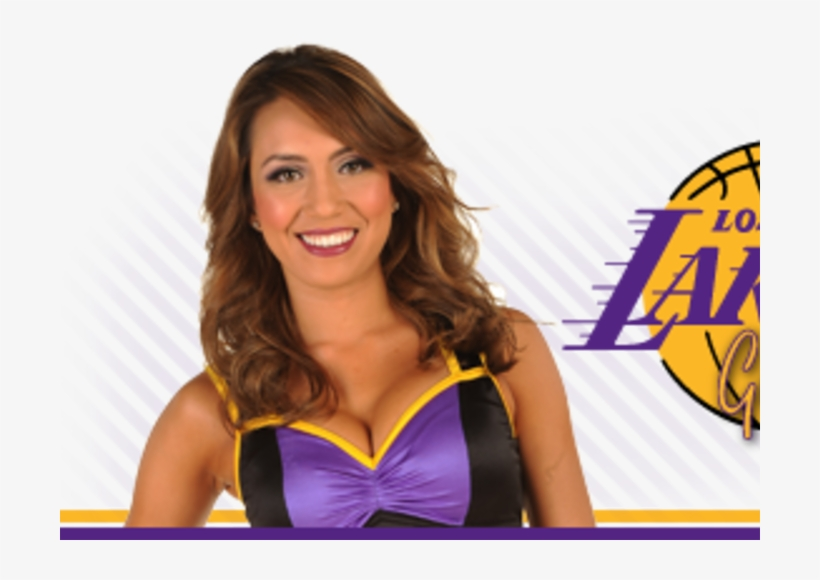 Laker Girls Logo, transparent png #8238257