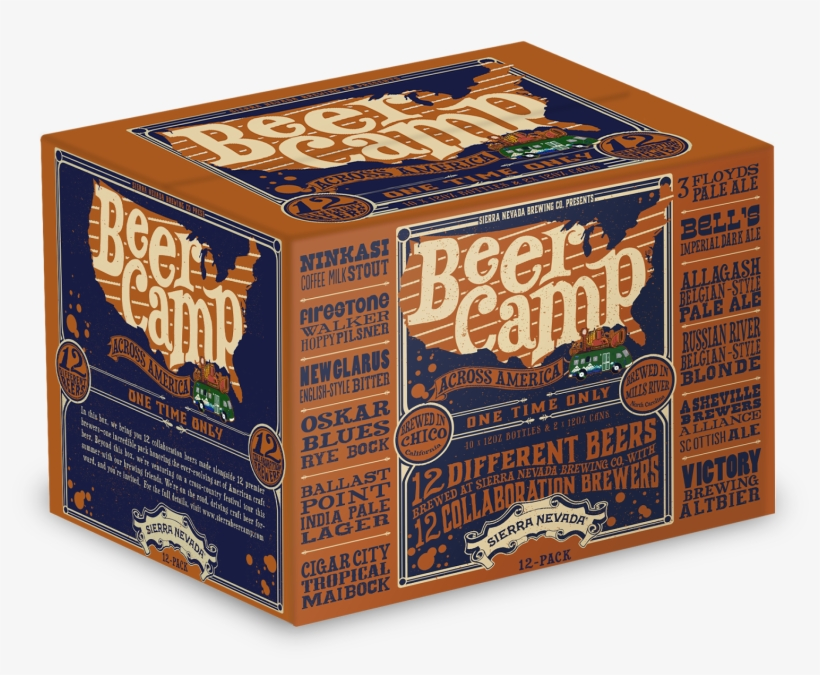 The Coachella Of 12-packson Tap - Sierra Nevada Beer Camp 12 Pack, transparent png #8239587